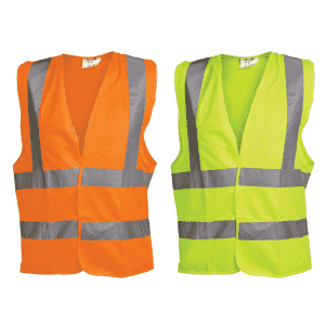 OX Hi Visibility Vest - Orange & Yellow