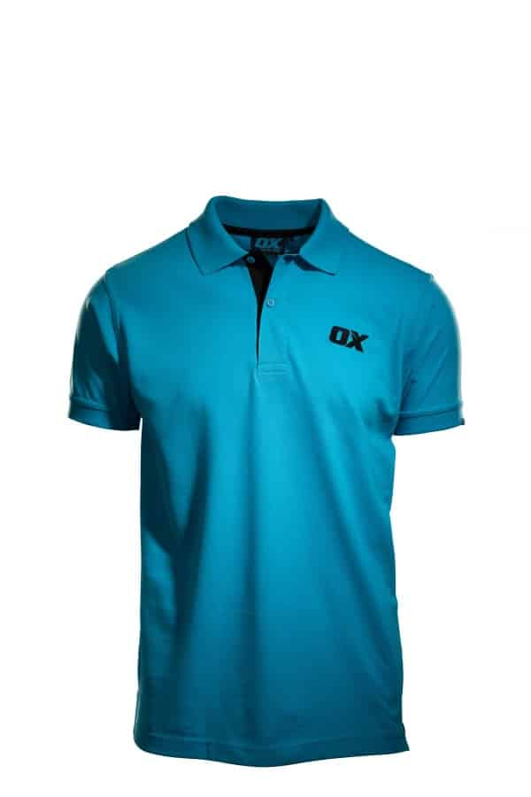 OX Poloshirt - S, M, L, XL, XXL - Blue -